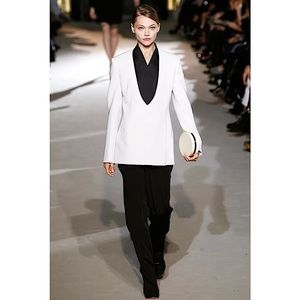Stella McCartney 2011 Runway Collarless Blazer